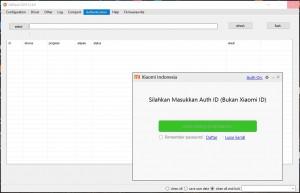 Xiaomi MiFlash Tools 2019-12-06 Support Auth Id Terbaru