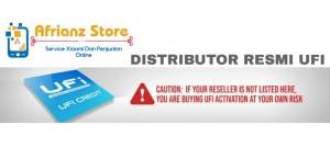 DISTRIBUTTOR RESMI CREDIT UFI / PENGISIAN CREDIT UFI RESMI INDONESIA (PROSES CEPAT 1 MENIT )