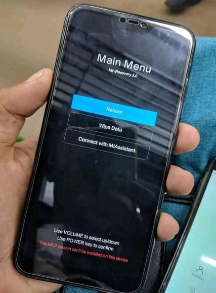 Fix / Atasi Redmi 6 Pro (Sakura) Stuck Recovery Setelah Update Manual With Xiaomi Id Autherized
