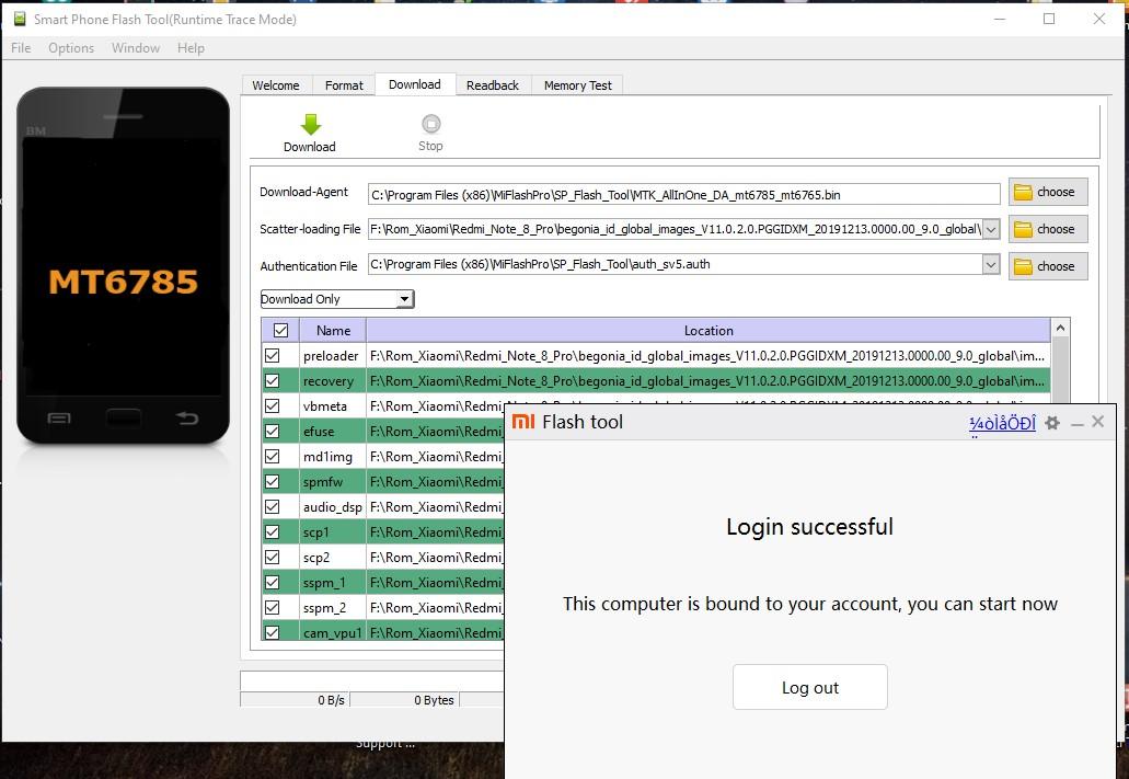 Mengatasi Redmi Note 8 Pro ( Begonia) Mati Total / Brick Sampai Hidup Kembali