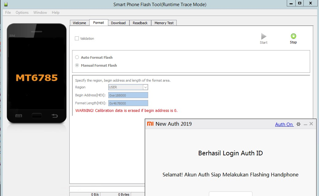Clean Hapus Mi Cloud dan FRP Redmi Note 8 Pro  A.k.a Begonia Khusus Garansi TAM / Resmi