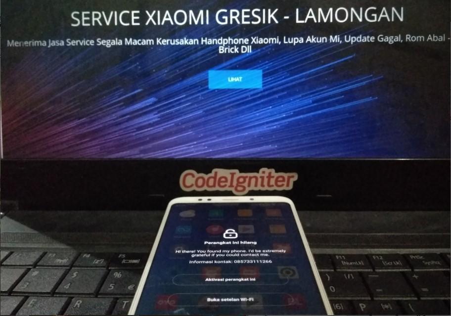 Clear Micloud / Akun MI Via Server 100% Bersih Tanpa Bug Tanpa Relock Support All Xiaomi